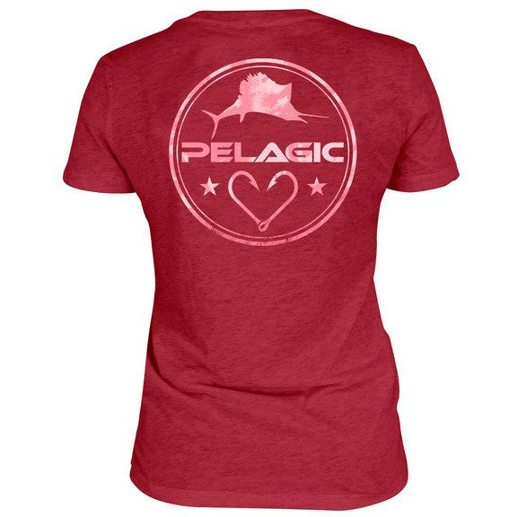 Pelagic Makai V-Neck Tee - Fishing's Finest