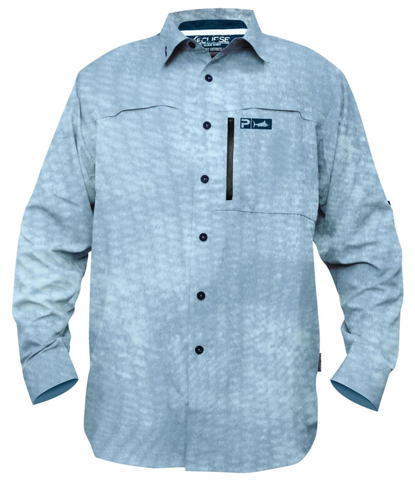 Pelagic Eclipse Pro Series Shirt - Slate Reefer - Fishing's Finest
