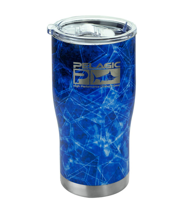 Pelagic 20 Oz Tumbler - Hex Blue - Fishing's Finest