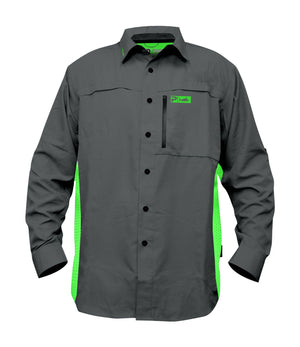 Pelagic Eclipse Guide Shirt Pro Series - Charcoal - Fishing's Finest