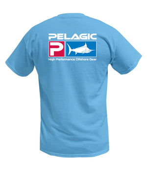 Pelagic Deluxe Logo Tee - Fishing's Finest