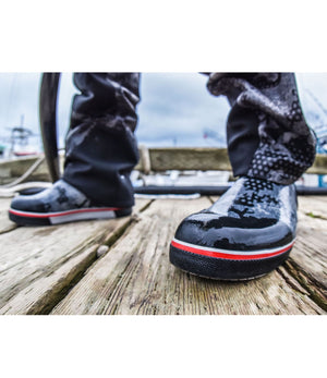 Pelagic Pursuit Deck Boot - Black - Fishing's Finest