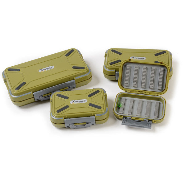 Xplorer Water Proof Fly Box - Fishing's Finest