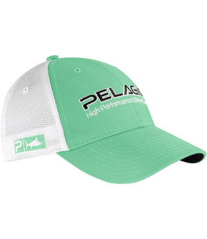 Pelagic Offshore Cap - Solid Light Green - Fishing's Finest