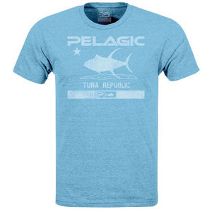 Pelagic Black Label Tuna Republic Tee - Fishing's Finest