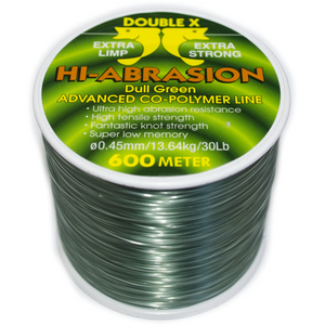 Double X Hi-Abrasion Line - Fishing's Finest
