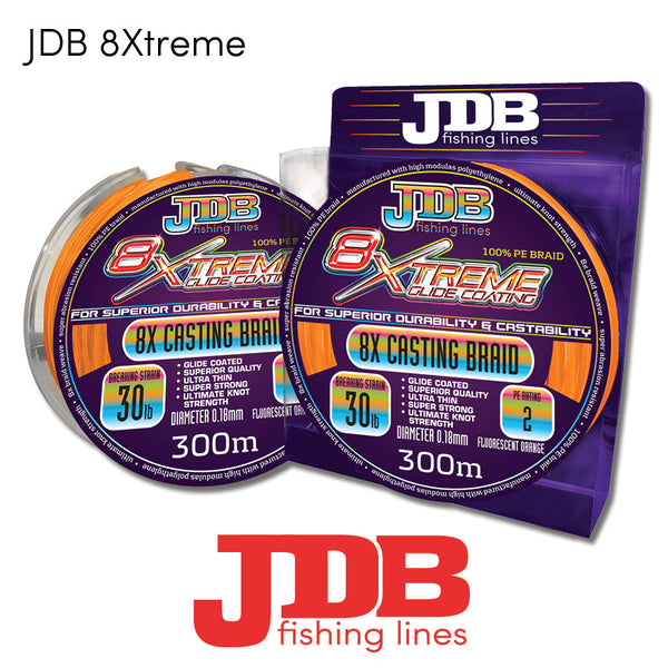 JDB Extreme 8x Braid - Fishing's Finest
