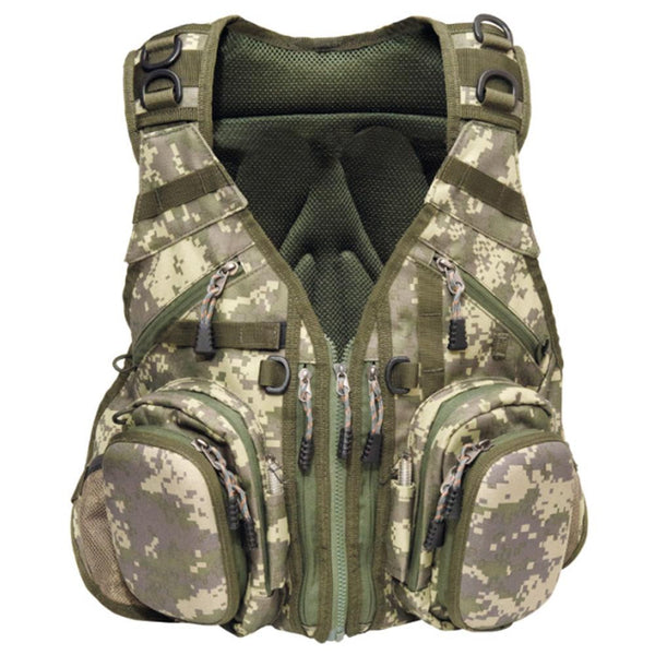 Airflo Camo Outlander Vest and back Pack - Fishing's Finest