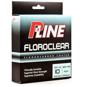 P-Line Floroclear Fishing Line - 260-300 Yards - Fishing's Finest