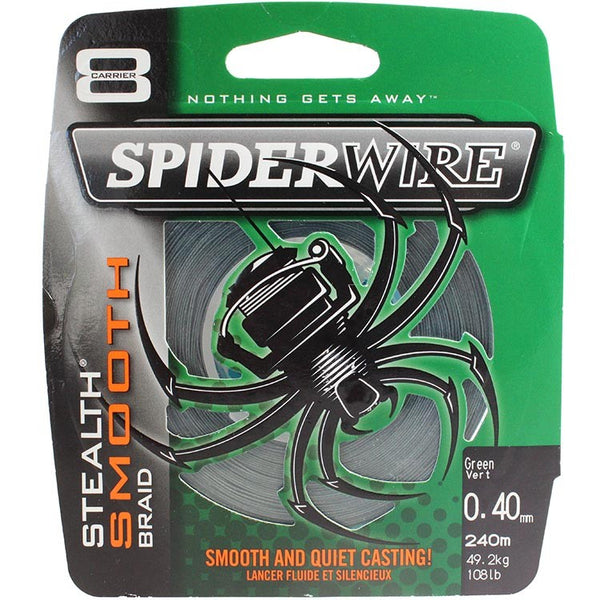 Spiderwire Stealth Smooth Braid - Fishing's Finest