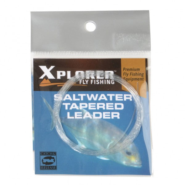 Xplorer Saltwater Tapered Leaders - Fishing's Finest