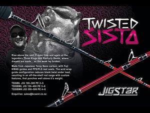 Jigstar Twisted Sista - Fishing's Finest