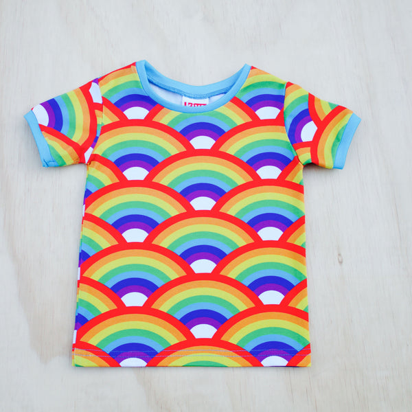 rainbow short sleeve t-shirt
