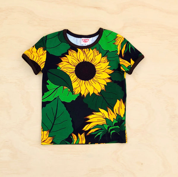 sunflower short sleeve t-shirt