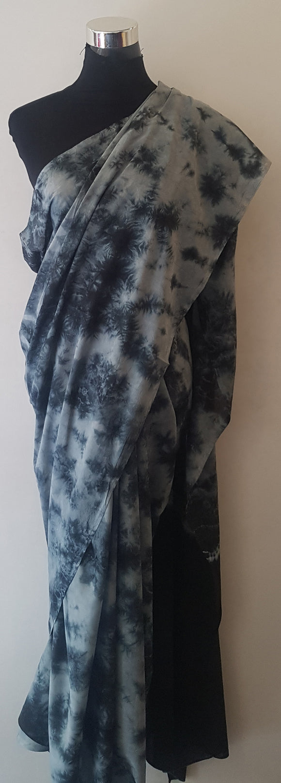 Shibori Black Saree (C)