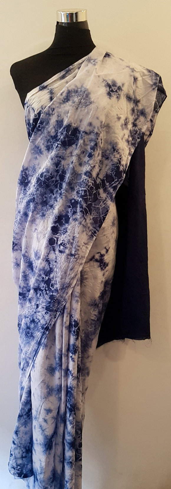 Shibori Blue Saree (C)