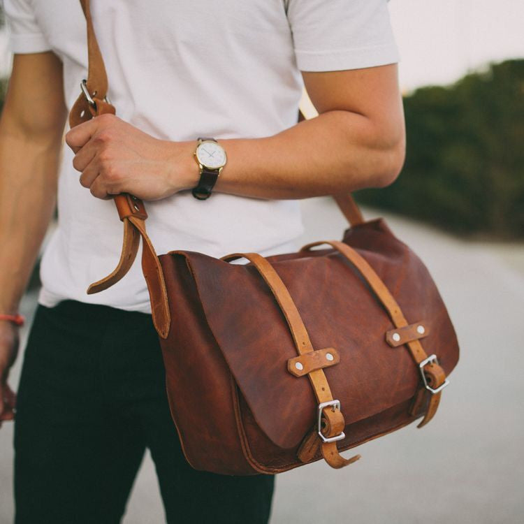 Men's Messenger Bags for All Fashionable Men