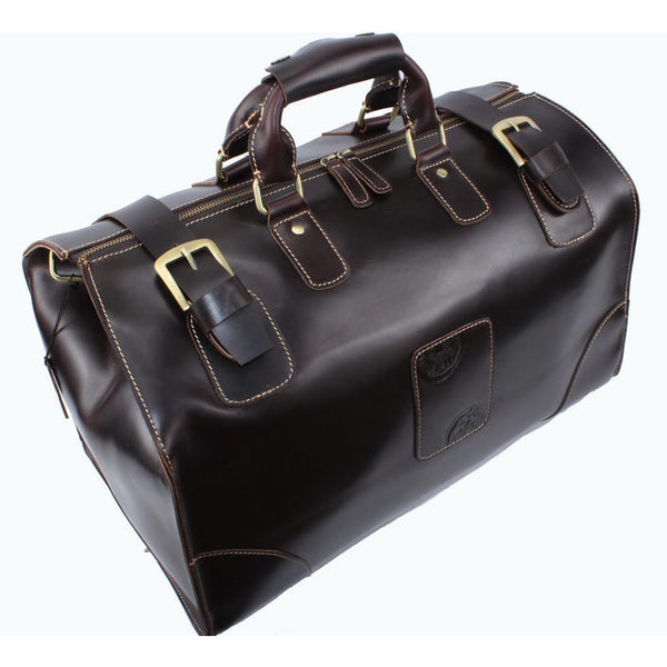 Handmade Large Genuine Leather Travel Bag / Luggage bag/ Duffle Bag (J04)