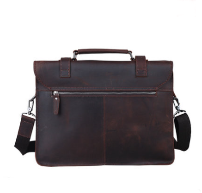Handmade Leather messenger bag, leather briefcase ( C25)