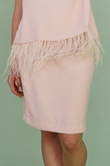 Bella Skirt in Blush Pink