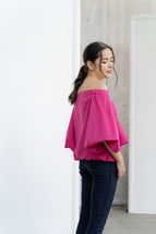 Tonne Top in Fuchsia