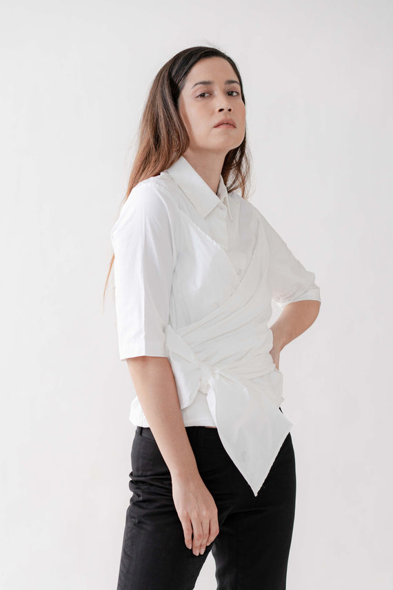 Laura Top in White (for Pre-order)
