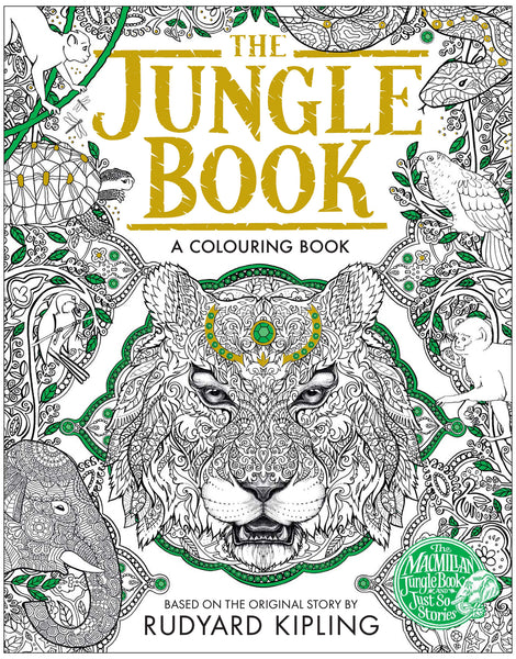 Jungle Book Colouring Book