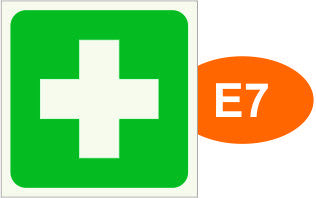 E7, E7A FIRST AID (framed)