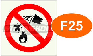 F25 FLAMMABLE LIQUIDS(Unframed)