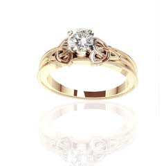 Bespoke Scottish Celtic Wedding and Engagement Rings Edinburgh