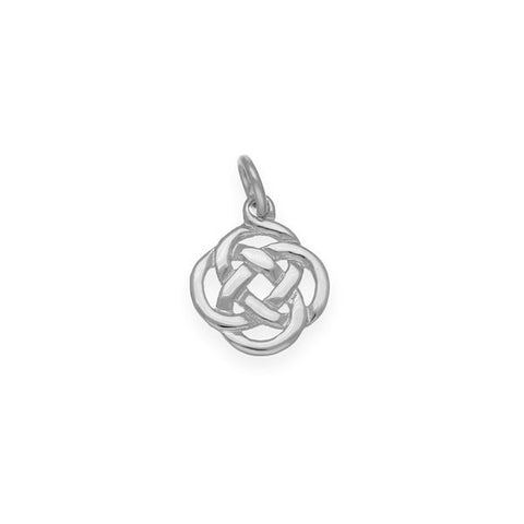Celtic Simple Charm in Sterling Silver