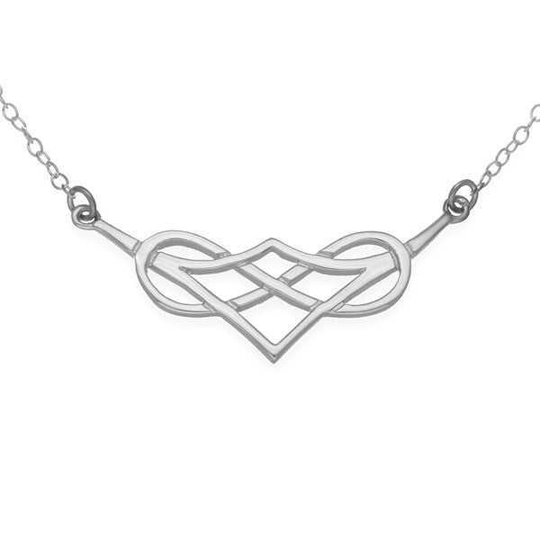 Celtic Knot Work Eternal Necklet