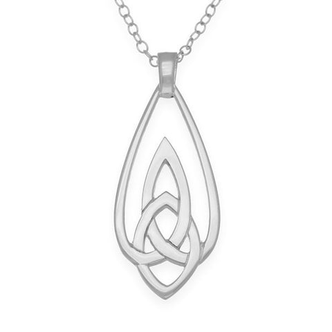 Celtic Knot Work Mother and Child Pendant