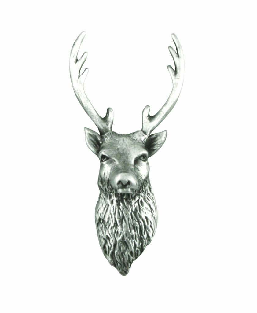 Scottish Stag Pin Brooch