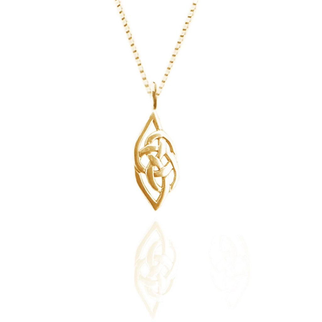 9ct Yellow Gold Celtic Flow Pendant