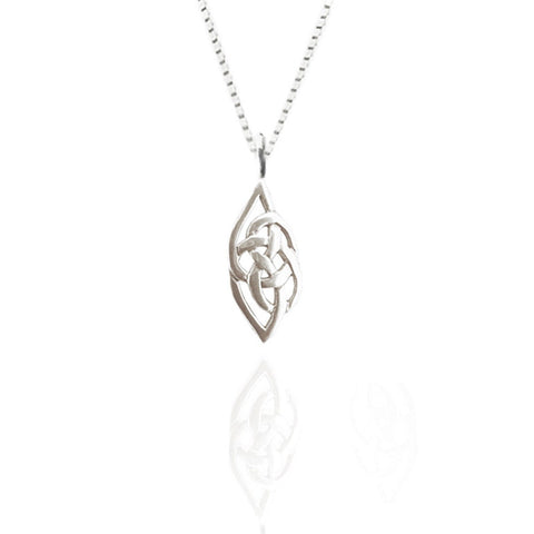 Sterling Silver Celtic Flow Pendant