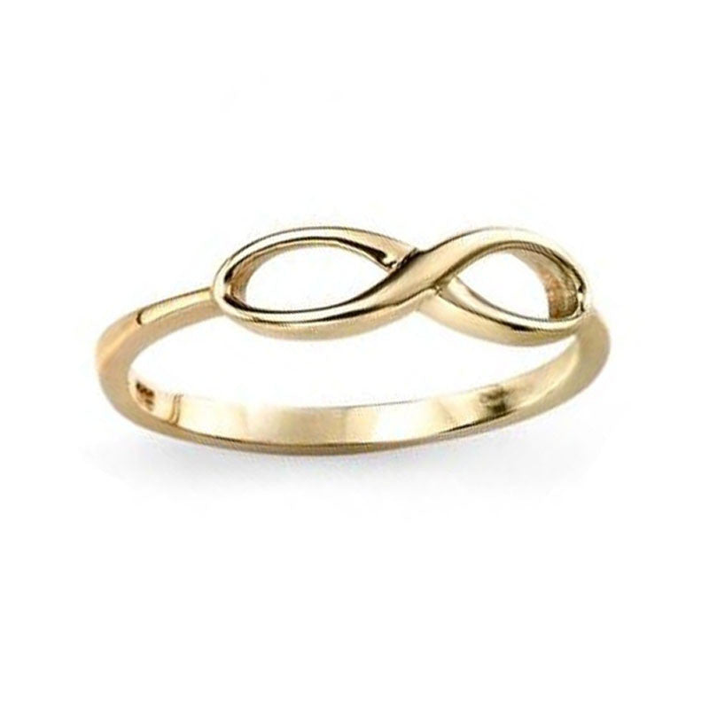 Scottish Infinity Ring in Yellow Gold