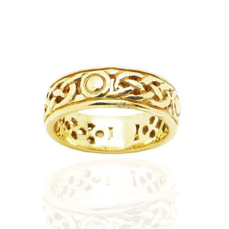 Celtic Ring in Gold