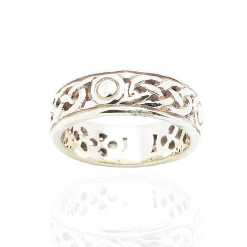 Celtic Ring in Silver