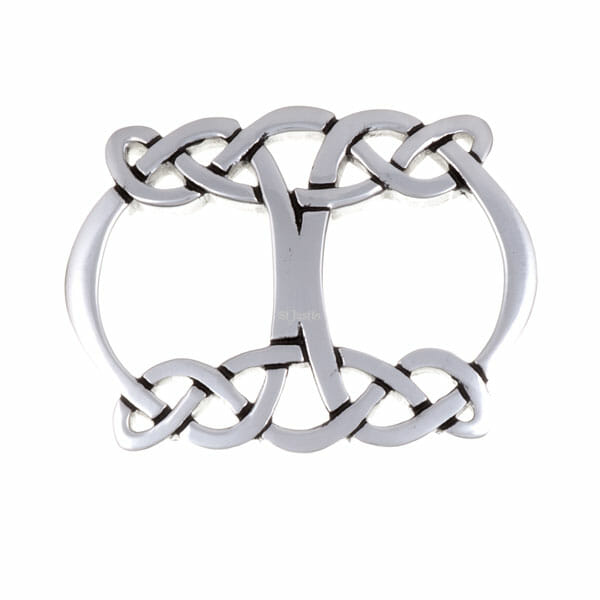 Celtic Knot Openwork Scarf Ring