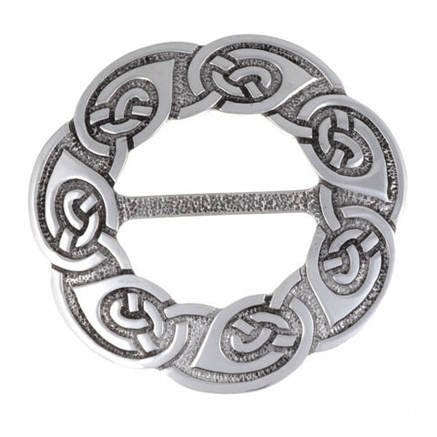 Large Celtic Endless Knot  Scarf Ring