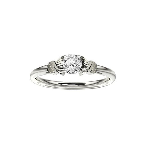 Thistle Diamond Engagement Ring