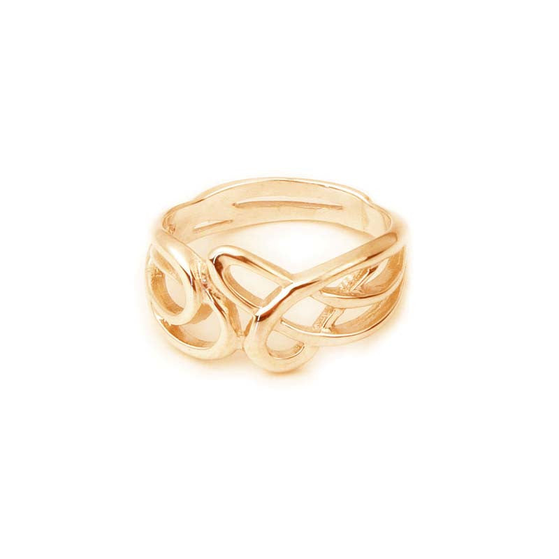 Celtic Knotwork Ring in Gold