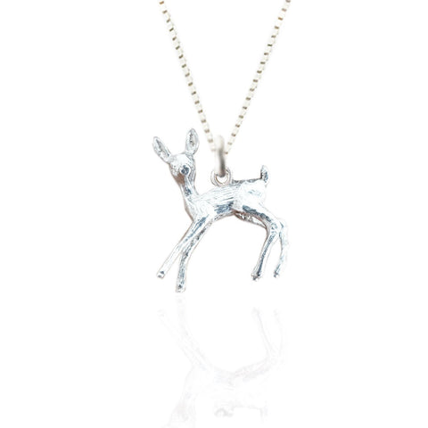 Sterling Silver Bambi Pendant