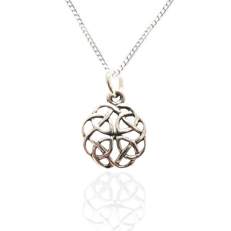 Celtic Knot Pendant in Silver
