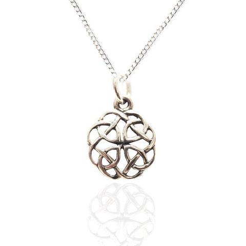 Scottish pendants necklets tappit hen gallery scottish celtic celtic knot pendant in silver aloadofball Images