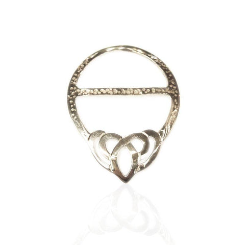 trio ring diamante scarf large rose gold rings