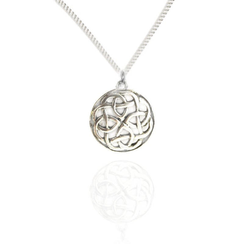 Celtic Knotwork Pendant in Silver