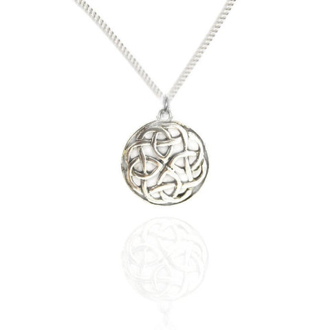 Scottish pendants necklets tappit hen gallery scottish celtic celtic knotwork pendant in silver aloadofball Images