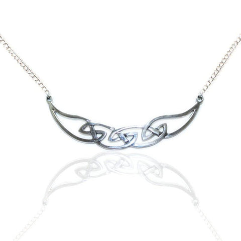 Celtic Necklet in Silver